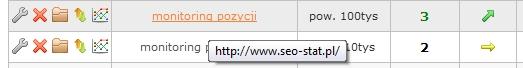 Odnaleziona podstrona po sprawdzeniu pozycji frazy w wyszukiwarce